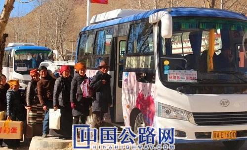 西藏实现具备条件的乡镇和建制村通客车