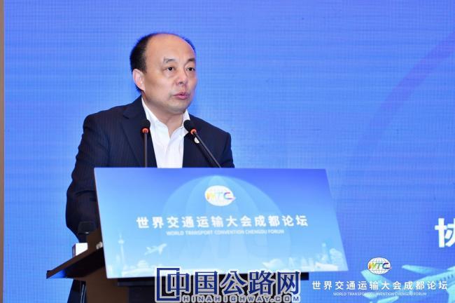 3中国公路学会副理事长兼秘书长致辞.jpg