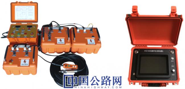 弹性波CT系统(左:电火花震源;右:地震仪).png