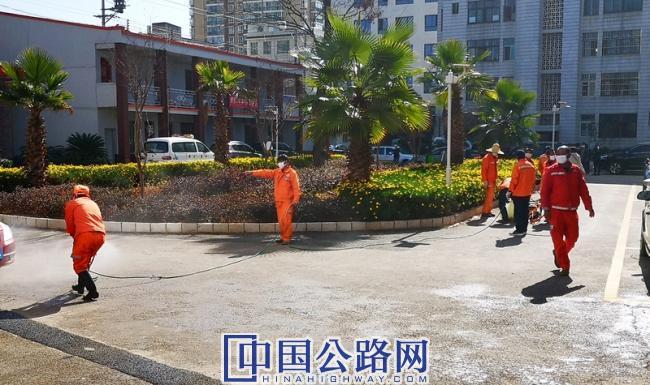 晉寧公路分局積極開展疫情防控工作1.jpg