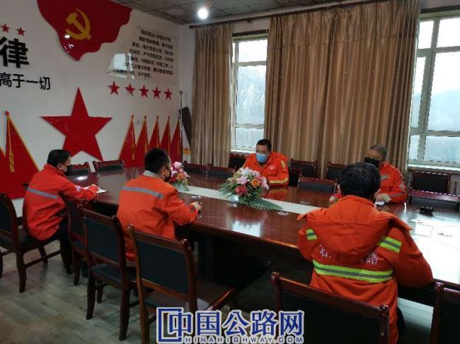 沙湾分局领导班子开会部署安排工作.jpg